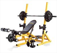 Powertec 3In1 Workbench/Rack System (Yellow)