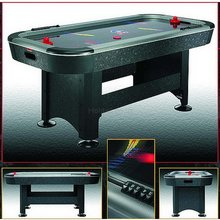 6and#39; Air Hockey Table and39;Silver Bulletand39;
