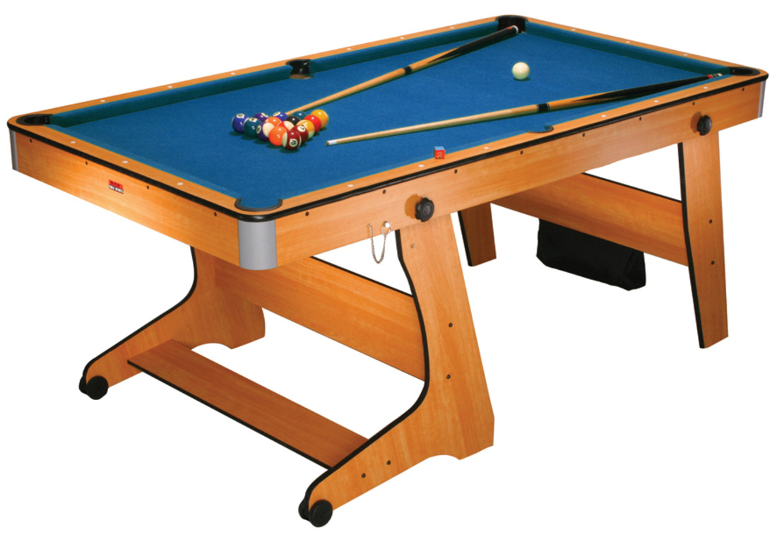 FP-6 6ft Vertical Folding Pool Table