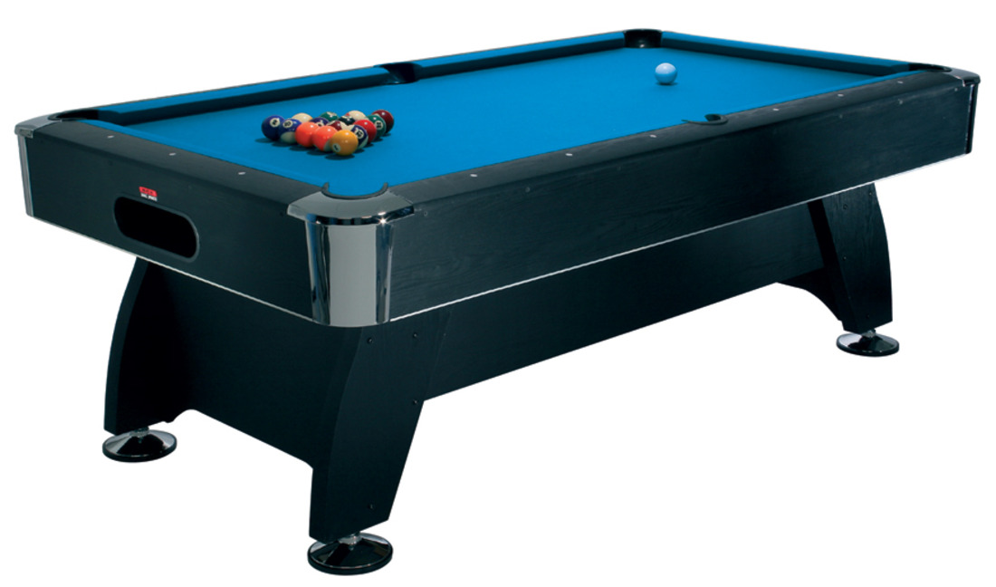 HPT1-7 7ft Deluxe Black Cat Pool Table