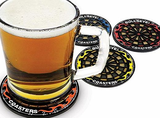 BDE Novelty Gifts /Stocking Filler / Secret Santa Presents (Dartboard Drink Coasters)