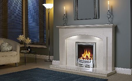 Be Modern 13340X Andorra 52 Inch Fireplace