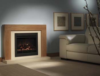 Be Modern Group Camberwell Electric Fireplace Suite in Ivory