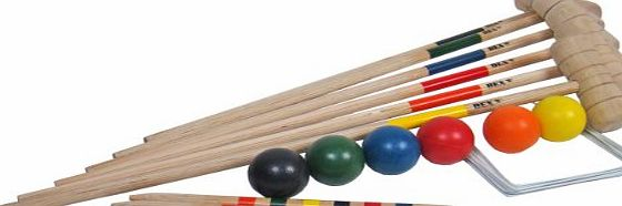 BE-X Bex 6 Mallet Croquet Set