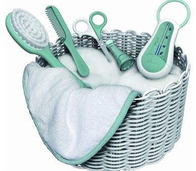 Cameleo Toiletries Basket (Pastel Blue)