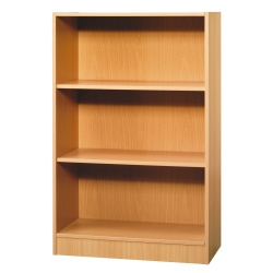 ` Executive Medium Bookcase - Beech 80W x