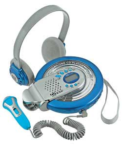 Sing-Along Personal CD Player - Blue