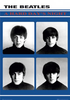 The Beatles For Sale Poster