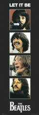 The Beatles Let It Be Door Poster