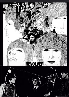 The Beatles Revolver Poster