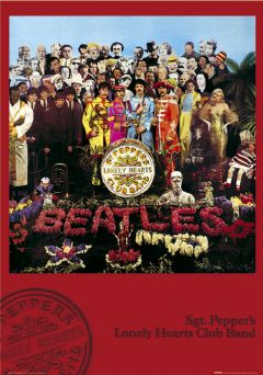 The Beatles Sgt Pepper Poster