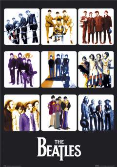 The Beatles Through The Years 2 Poster