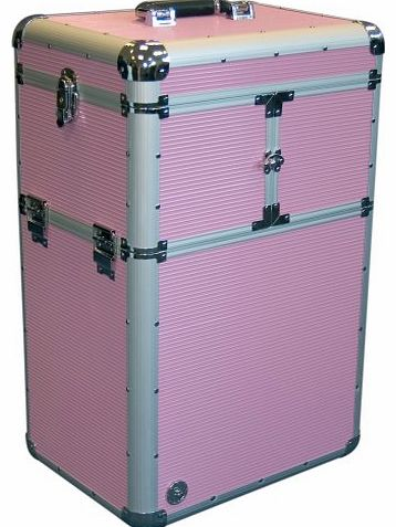 Beauty-Boxes Genoa Pink Cosmetics and Make-up Trolley