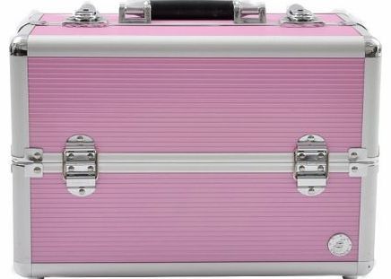 Beauty-Boxes San Remo Pink Cosmetics and Make-up Beauty Case