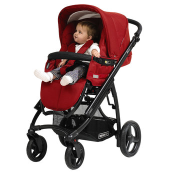 Ip-op Pushchair in Chilli