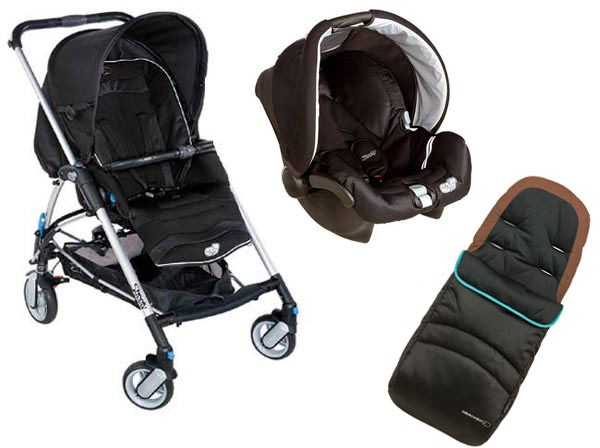 Streety Inc Car Seat Raincover And Footmuff