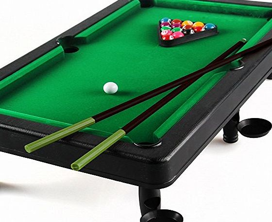 Beby Mini Snooker Table Toys Pool Tabletop Games Playset for Toddler Kids