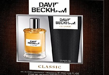 Beckham Classic Eau de Toilette and Shower Gel