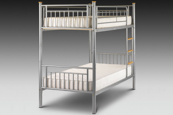 Atlas Alloy Bunk Beds Single 90cm