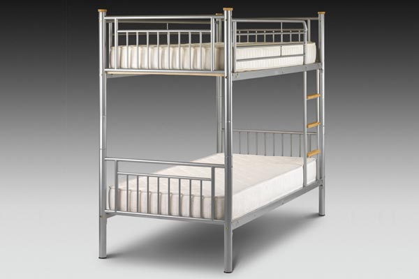 Atlas Metal Bunk Beds Single 90cm