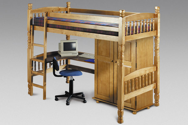 Bedsitter Bunk Bed Single