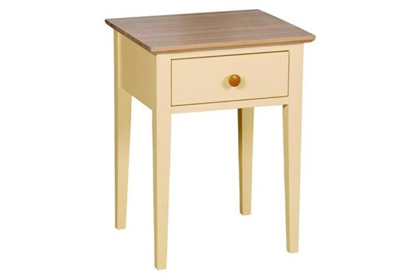 Boston 1 Drawer Bedside
