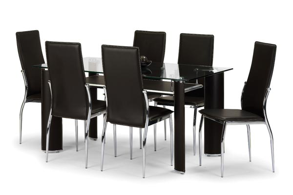 Boston Dining Table with Chairs