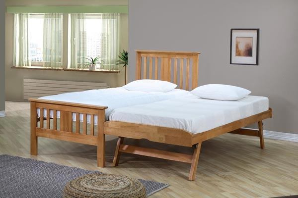 Brent Wooden Guest Bed Single 90cm