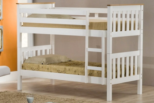 Colorado Pine Bunk Beds Single