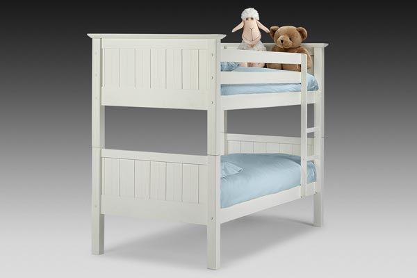 Colorado White Bunk Bed Single 90cm