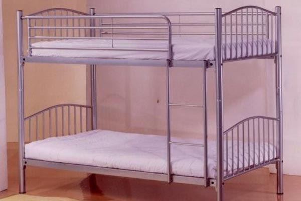 Corfu Metal Bunk Bed Single 90cm