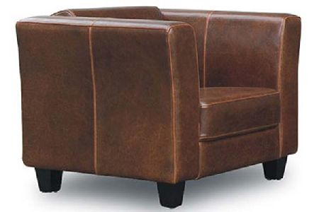 Emily Leather Arm Chair