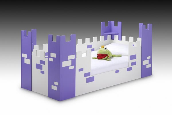 Fairy Castle Kids Bed Single 90cm