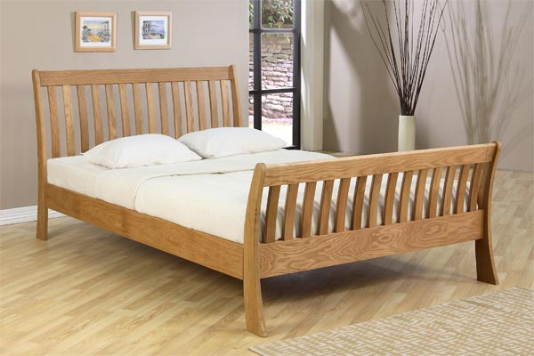 Harvest High Foot End Bed Frame Double 135cm