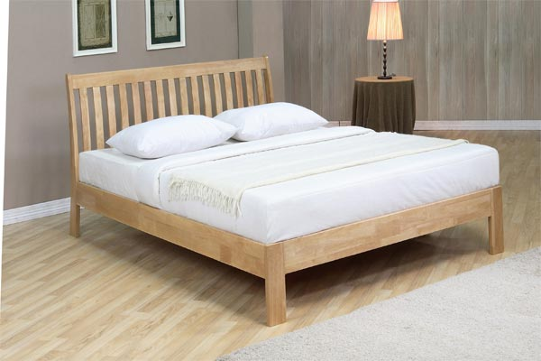 Harvest Low Foot End Bed Frame Double 135cm