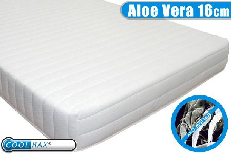 Healthy Living 16cm Aloe Vera Mattress - Half