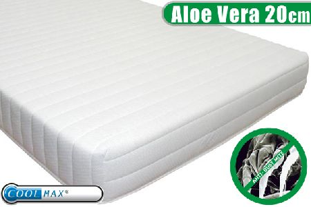 Healthy Living 20cm Aloe Vera Mattress - Half