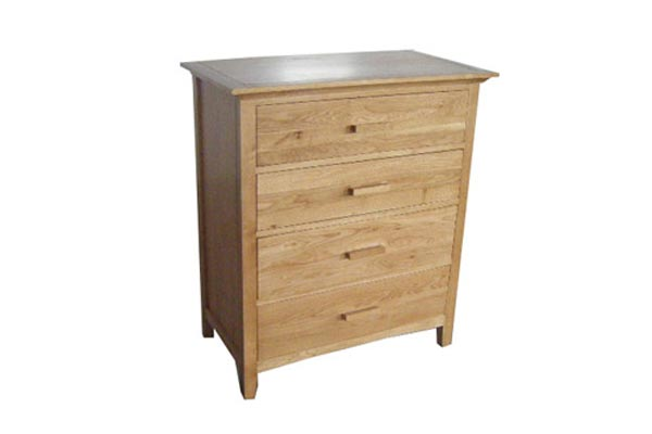 Kendall Oak 4 Drawer Chest
