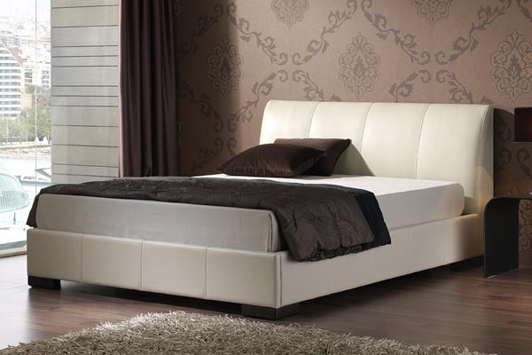 Kenton Ivory Bed Frame Double 135cm