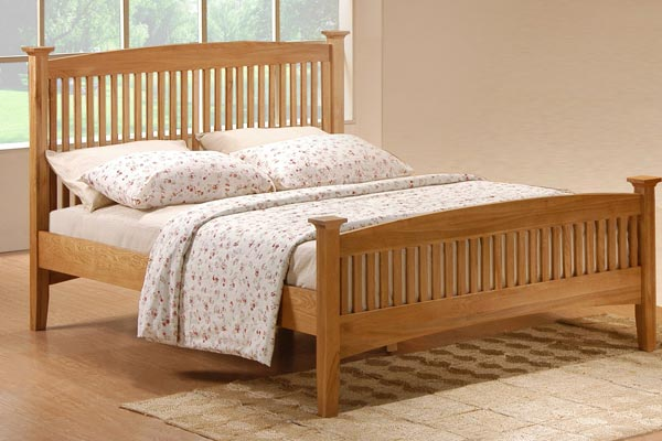 Lancaster Bed Frame Double 135cm