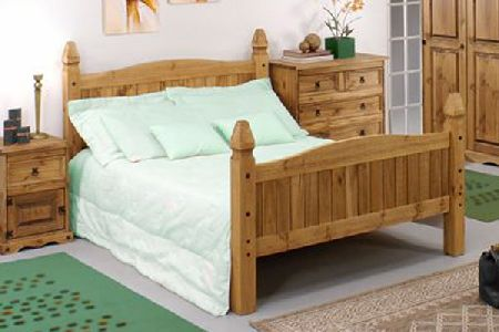 Mexican Tucan Bedstead Double
