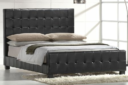 Mondo Leather Bed Frame Double 135cm