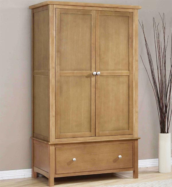New Lynmouth 2 Door 1 Drawer Robe