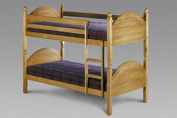 Nickleby - Wooden Bunk Beds Single 90cm
