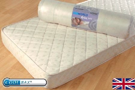 Relax Health Foam 140 Mattress Single 90cm