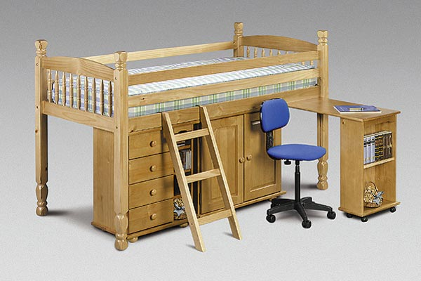 Sleep Station Single Sided Cabin Bed Single 90cm