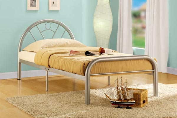 Solo Metal Bed Frame Single 90cm