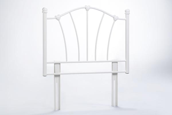 Sophia Cream Headboard Single 90cm