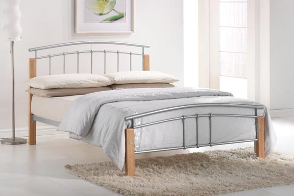 Tetras Metal Bed Frame Double 135cm