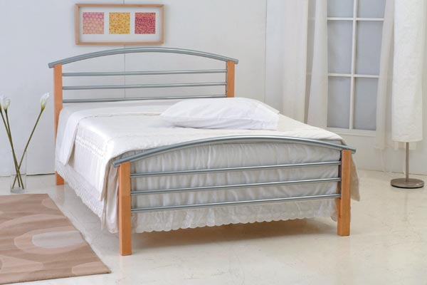 Toscana Metal Bed Frame Double 135cm